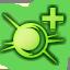 Icone Maître argenté