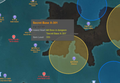 Une map interactive de l'ensemble de Lost Ark : boss, graines Mokoko, cartes au trésor…