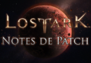 [Notes de patch] Détails de la mise à jour du 09/01/19
