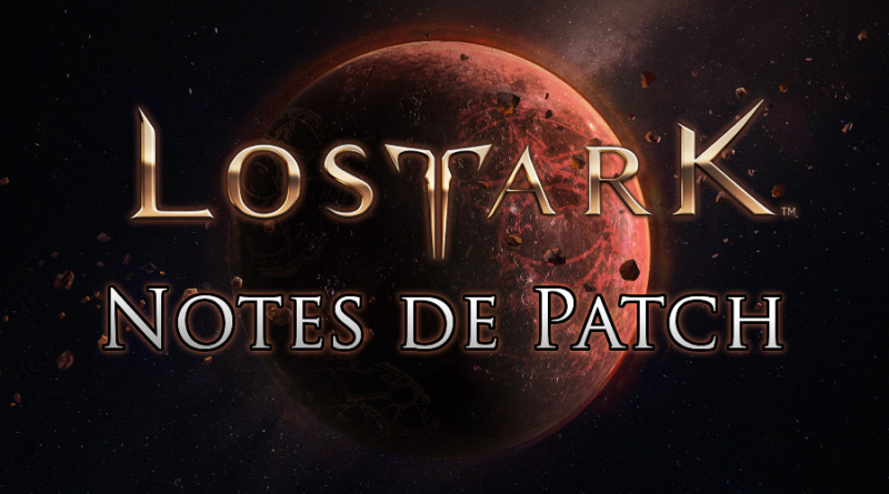 [Notes de patch] Détails de la mise à jour du 12/06/19